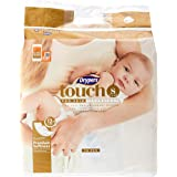 Drypers Touch Diapers, S (3-7kg), 70ct