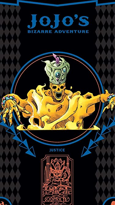 ジョジョの奇妙な冒険  iPhone/Androidスマホ壁紙(640×1136)-1 - エンヤ婆のスタンドジャスティス justice