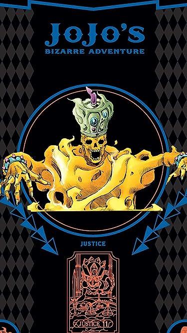 ジョジョの奇妙な冒険  iPhone/Androidスマホ壁紙(540×960)-1 - エンヤ婆のスタンドジャスティス justice