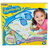 Aquadoodle My First Discovery (Roll n Go) Water Doodle Mat, Official Tomy No Mess Colouring & Drawing Game, Suitable for Todd