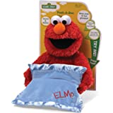 Sesame Street 4038770 Peek-A-Boo Elmo Stuffed Plush Toy, 38 x 30 x 22cm