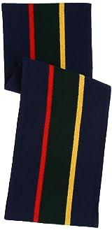 School Muffler 11-45-0213-247: Navy / Yellow / Green