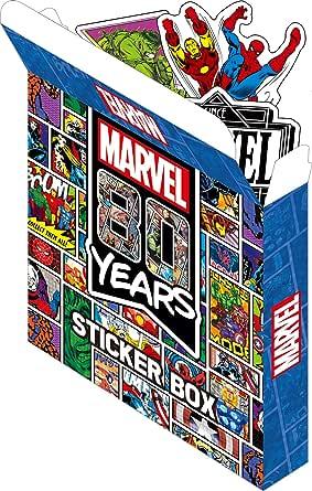 MARVEL 80YEARS/ステッカーBOX IS525