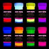 neon nights 畜光 | 発光 | 燐光 | 自己発光塗料 - 8個入り