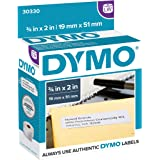 DYMO LW Return Address Labels for LabelWriter Label Printers, White, 3/4'' x 2'', 1 roll of 500