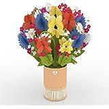 Lovepop Wildflower Bouquet - 3D Flowers, Fall Pop Up Card, Pop Up Flowers, Paper Bouquet, Thanksgiving Pop Up, Flower Pop Up