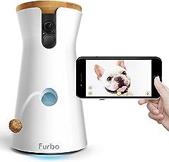 Furbo ドッグカメラ 飛び出すおやつ 双方向会話 iOS Android対応 Alexa対応 AI搭載