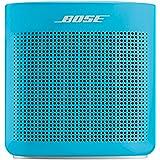 Bose SoundLink Color Bluetooth speaker II ポータブル ワイヤレス スピーカー マイク付 最大8時間 再生 防滴 12.7 cm (W) x 13.1 cm (H) x 5.6 cm (D) 0.54 kg ア