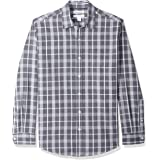 Amazon Essentials Men's Regular-Fit Long-Sleeve Casual Poplin Shirt