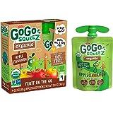 GoGo Squeez Organic Apple Cinnamon, 90.7g (Pack of 4)