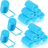18 Pieces Sponge Hair Rollers Large Soft Foam Hair Styling Curlers 40 mm Large Size Hairdressing Curlers for Women and Kids (
