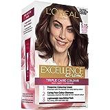L'Oréal Paris Excellence Creme, 5.15 Natural Frosted Brown (100 Percent Grey Coverage)