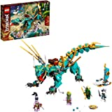 LEGO NINJAGO Jungle Dragon 71746 Building Kit; Ninja Playset Featuring Posable Dragon Toy and NINJAGO Lloyd and Zane; Cool To