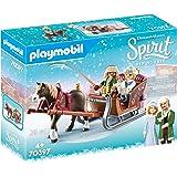 PLAYMOBIL 70397 Spirit Riding Free Winter Sleigh Ride Playset (28 Pieces),Multicolor