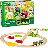 BRIO ( ブリオ ) レールウェイ マイファースト ビギナーセット [全18ピース] 対象年齢 1歳半~ ( 電車 おもちゃ 木製 レール ) 33727