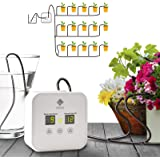 [Upgraded Pump] Big Power Automatic Drip Irrigation Kit, Indoor Plants Self Watering System with 0.5-30 Day Interval Programm