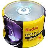 Kodak DVD-R Kodak DVD-R 4.7GB 16x Spindle 50 Pack, (570050)