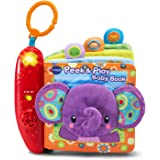 VTech 80-189350 Baby Peek and Play Book Amazon Exclusive, Purple