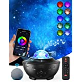 Galaxy Projector Star Projector Skylight Night Light for Bedroom Sky Lite Projector with Music Speaker and Remote Control, 3