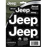 Chroma 009991 Jeep Thing Stick Onz Decal