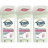 Tom's of Maine Antiperspirant Deodorant for Women, Natural Powder, 2.25 oz. 3-Pack