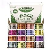 Crayola Classpack Assortment, 800 Regular Size Crayons, 16  (50 Each), Great for Classroom, Educational, All-Purpose Art Tool