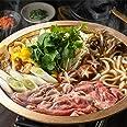 3代続く うどん棒 の 牛すき (オリーブ牛 ロース A5・4等級(金ラベル) お出汁 季節のお野菜と具材一式 薬味 ) 2人前 香川県産