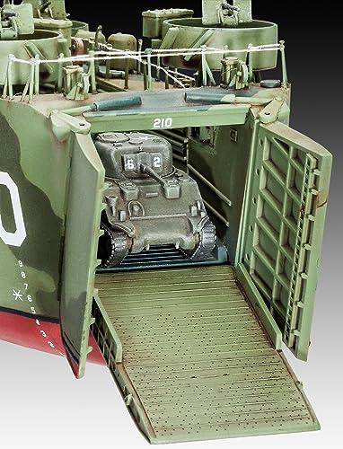 ドイツレベル 1/144 アメリカ海軍 LSM 05123 プラモデル