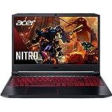 "Acer Nitro 5 Gaming Laptop, 10th Gen Intel Core i5-10300H, NVIDIA GeForce GTX 1650 Ti, 15.6"" Full HD IPS 144Hz Display, 8GB D"
