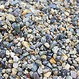 水槽用底砂 国産 川玉砂利 5mm~10mm 洗って入れるだけでぴったり 30cm水槽で3センチ/45cm水槽で2センチにぴったり敷ける 淡水魚さんにぴったり合う お魚の色を鮮やかに演出する天然カラー KAWATAM (JA)