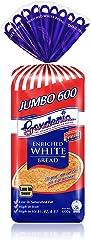 Gardenia Jumbo 600 Enriched White Bread, 600g