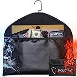 ROLOWAY Hanger Diversion Fireproof Safe with Small Fireproof Bag - Hidden Safe Compartment for Home & Travel - Secret Safe fo