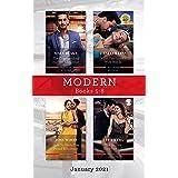 Modern Box Set 5-8 Jan 2021/The Commanding Italian's Challenge/What the Greek's Wife Needs/How to Undo the Proud Billionaire/