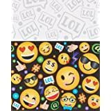 Amscan LOL Emoji Plastic Tablecover Birthday Party Supplies