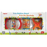 """Halilit HL3005 Halilit - Trio Rattle Band Baby Musical Toy, Multi-Colored, 8"""""""