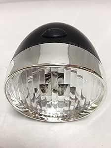 【2点セット】砲弾型ライト LED 3個使用 ヘッドライト+マイクロファイバータオル