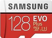 Samsung EVO Plus 128GB microSDXC UHS-I U3 100MB/s Full HD & 4K UHD Nintendo Switch 動作確認済 MB-MC128GA/ECO 國內正規保証品