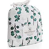 Poppi & MAX: 100% Organic Bassinet Sheets – Premium Jersey Cotton 3-Sheet Set for Baby Girl or Boy | Fitted Sheets for Oval,