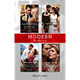Modern Box Set 5-8 Mar 2021/The World's Most Notorious Greek/The Surprise Bollywood Baby/Terms of Their Costa Rican Temptatio
