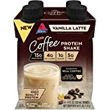 Atkins Atkins Iced Coffee Vanilla Latte Protein Shake. (4 Shakes)