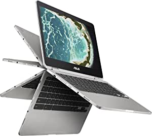 ASUS C302CA-DHM4 12.5-Inch Touchscreen Chromebook Flip Intel Core m3 with 64GB storage and 4GB RAM by Asus
