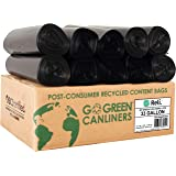 Reli. Eco-Friendly 33 Gallon Trash Bags (150 Count Black) Recyclable Garbage Bags 33 Gallon, Made from Recycled Material - Bl