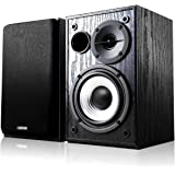 Edifier R980T Active Bookshelf Speakers - 2.0 Computer Speaker - Powered Studio Monitor (Pair)