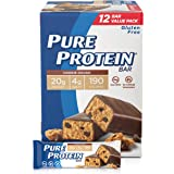 Pure Protein Bars Pack, Cookie Dough, 12 Count