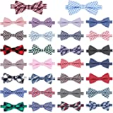 Segarty Pet Bow Ties, 30 PCS Small Dogs Puppy Cats Collar Bowties, Adjustable Collar Neckties for Baby Boys Girls Holiday Fes