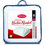 Tontine T9018 Sherpa Electric Blanket,Double Bed