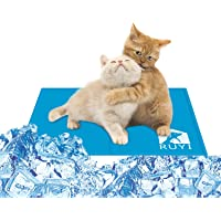 RUYI ペット ひんやりマット ペットマット ペットの体温を低下される 冷却マット 暑さ対策 夏用 冷感ジェルマット…