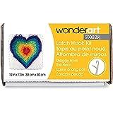 "Wonderart Shaggy from The Heart Latch Hook Kit, 12"" X 12"""