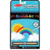 Melissa & Doug 9418 On The Go Scratch Art Hidden-Picture Pad - Favorite Things