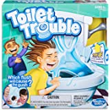 Toilet Trouble - Which flush will cause the gush - 2+ Players - Kids Toys & Board Games - Ages 5+